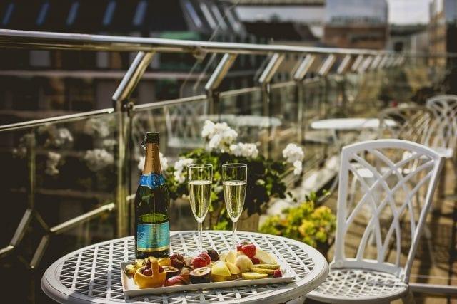 Balkongrum Vippaket Freys Hotel